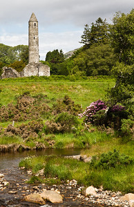 Glendalough tower, Wicklow