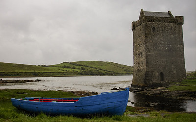 Rockfleet Castle, Achill Island.