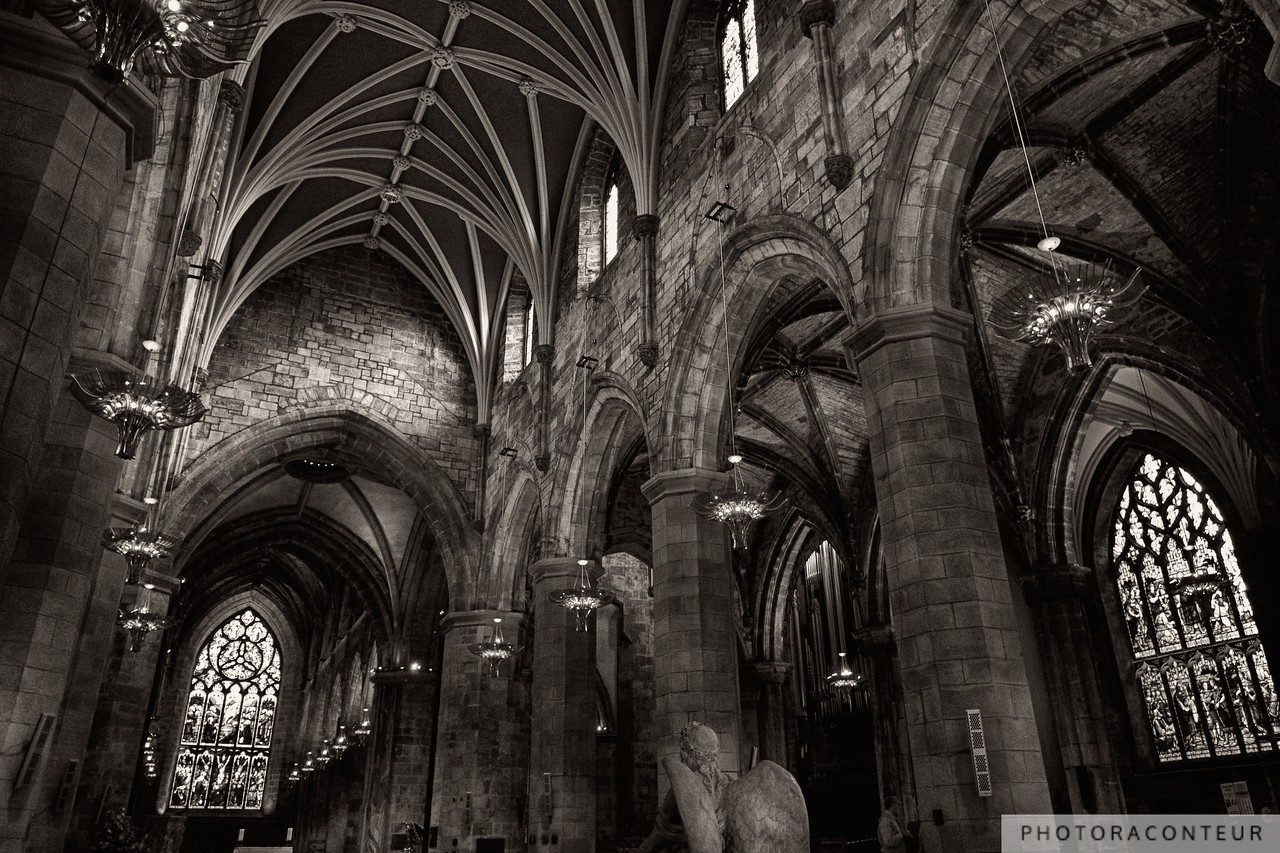 Angel's View of St. Giles Cathedral