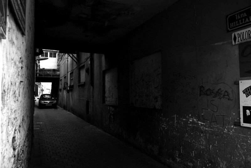 Dark Alley; Killarney