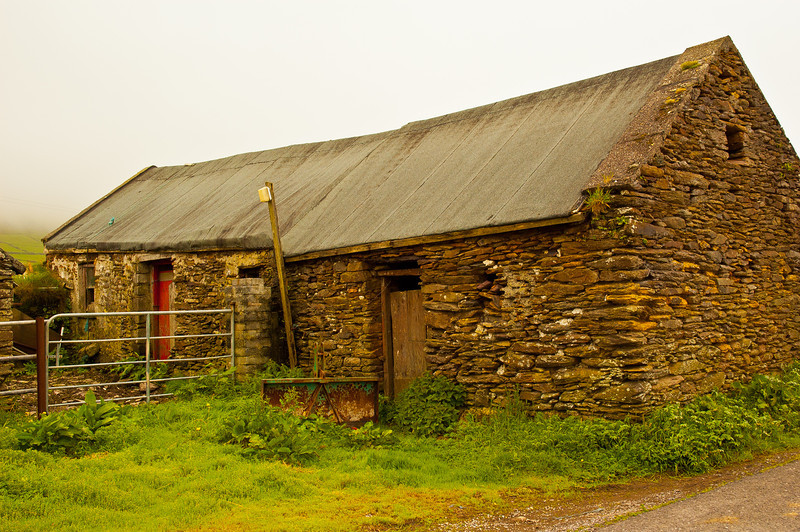 Irish Barn I