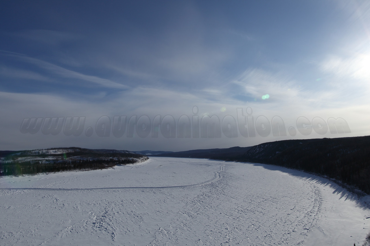 Frozen Yukon River captured at 11:02:01 AM on March 20, 2013 with<br /> Canon EOS 5D Mark II camera and Canon EF 24mm f/1.4L II lens<br /> <br /> Largest available Photo Dimensions: 5616 x 3744