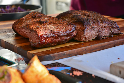 Corned Beef Briskets straight from the smoker!..just saying!...Yummmm!.. :)