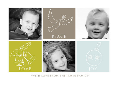 Irwin Family Christmas Card Options