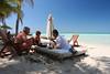 Americans at play-Nabalam Hotel-Isla Mujeres.