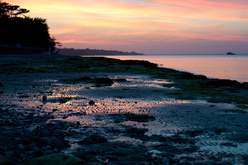 Sunset at Bembridge