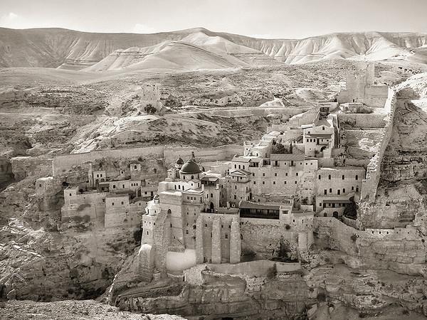 Mar Saba Monastery 2008