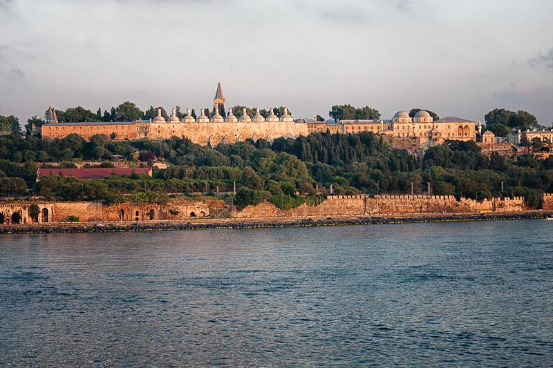 Topkapi Palace at sunrise