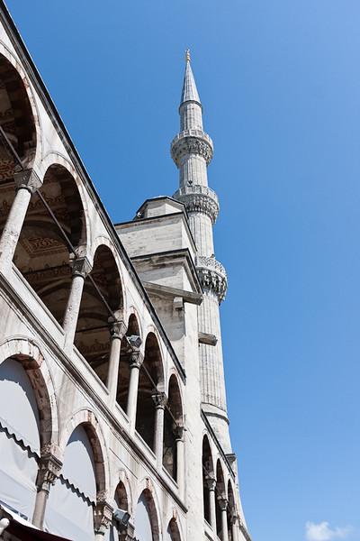 Minaret, Blue Mosque