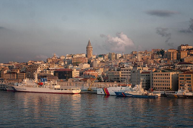 Istanbul at sunrise