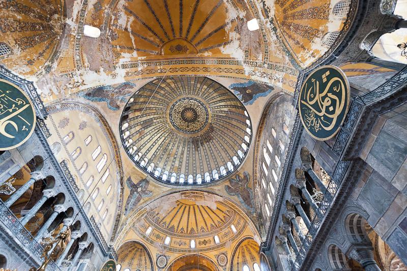 Ceiling detail, Hagia Sophia