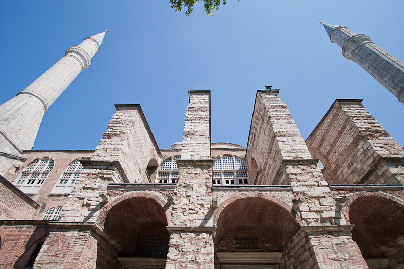 Exterior of the Blue Mosque
