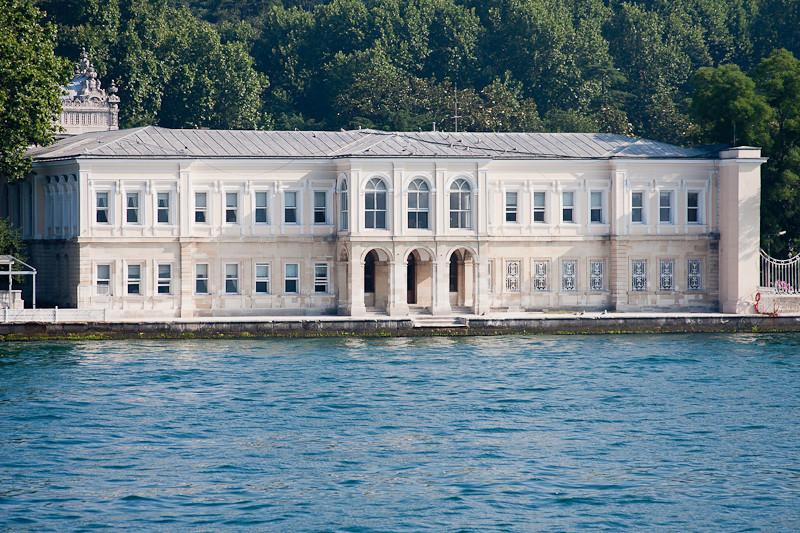 One of the many palaces on the Bosporus
