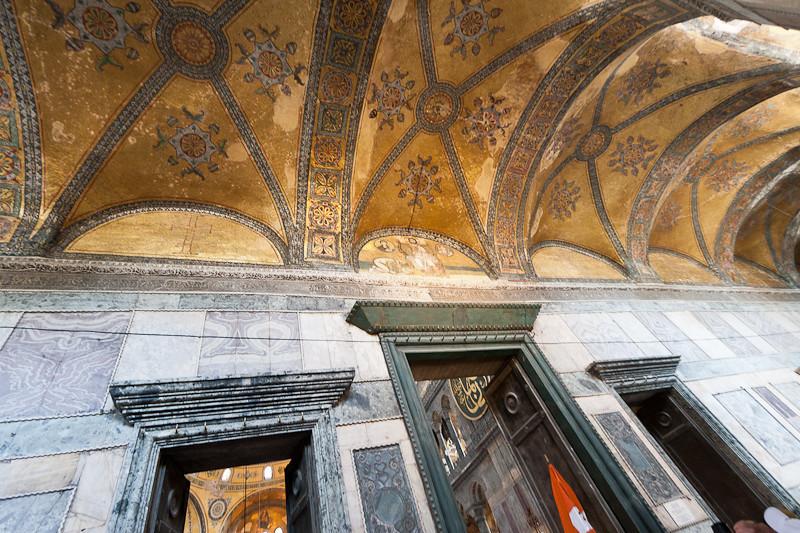 Ceiling detail, Blue Mosque