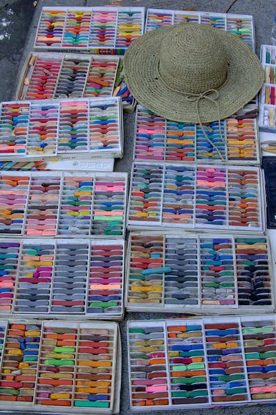 Italian Street Painting Festival - San Rafael CA