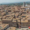View from the top of the Mangia tower, Siena, Tuscany