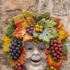 Decoration on the wall in Siena, Tuscany