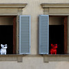 Doggies in the Window, Florence