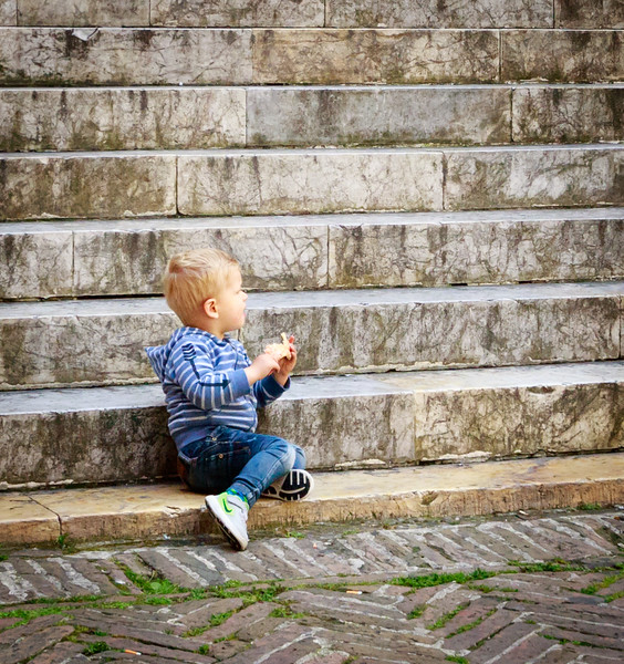 Steps at Divina Bellaza, Siena