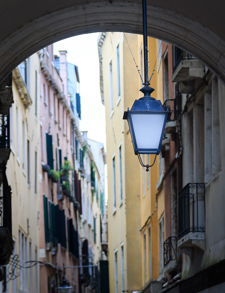Venice, Street of the St. Mark's Square