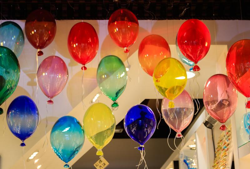 Venice glass balloons