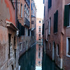 Venice, building reflection