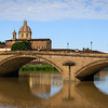 Florence, bridge over Arno