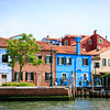 Burano from the laguna