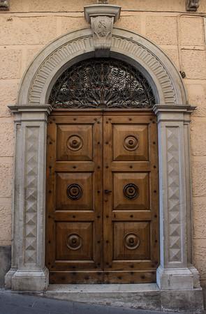 Decorative Door, Assisi