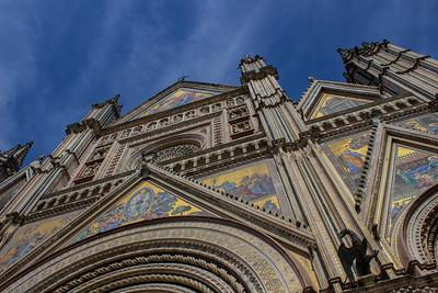 Façade of Orvieto Cathedral