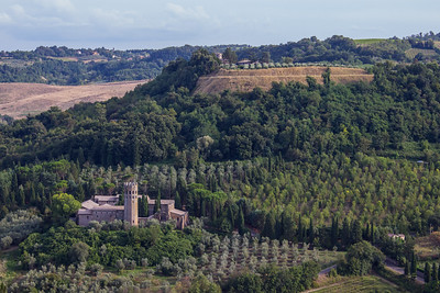 Looking West from Orvieto