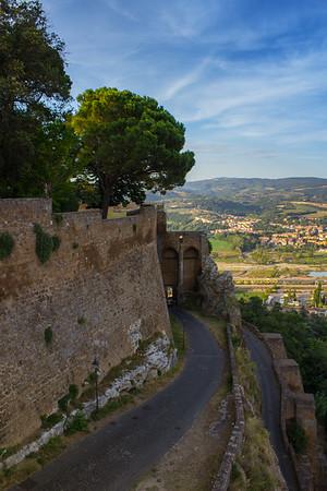 Walls of Orvieto
