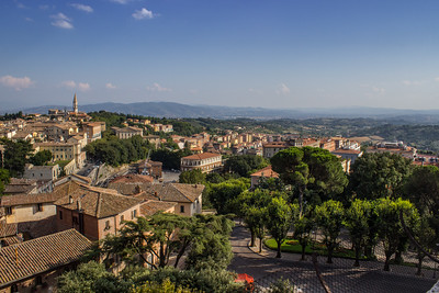 Looking Southeast from Perugia