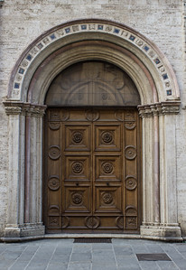 Decorative Door, Perugia