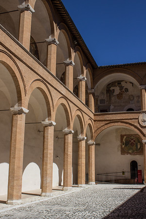 Inner Courtyard, Rocca Albornoziana