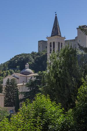 Hillside in Spoleto