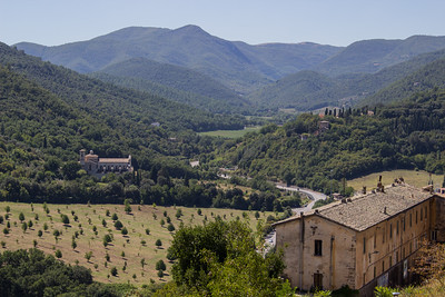 Valley Near Spoleto