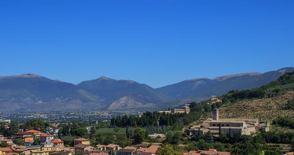 View from La Rocca Albornoziana