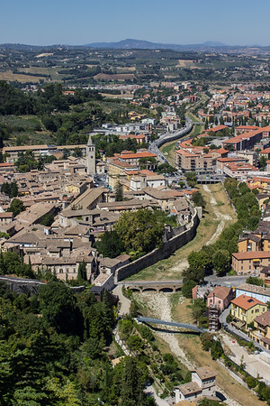 Site of the former Roman Ampitheatre and the Ponte Sanguinario