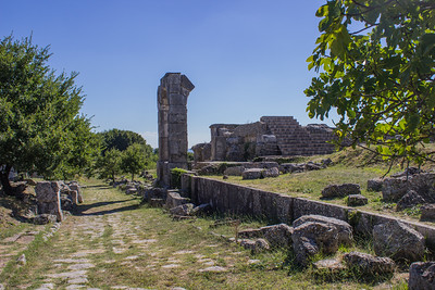 Ruins along the Via Flaminia