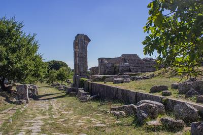 Ruins along the Via Flaminia