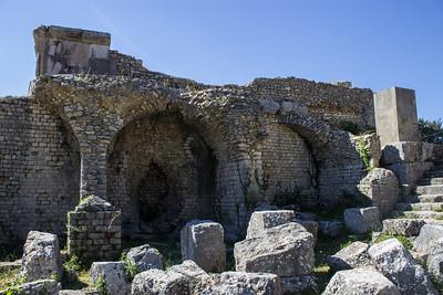 Temple Ruins, Detail