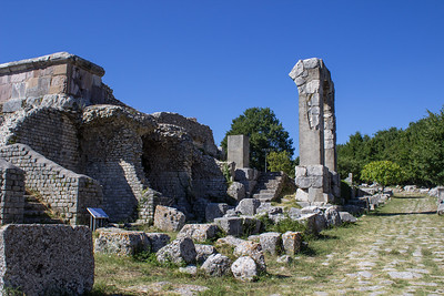 Temple Ruins along the Via Flaminia