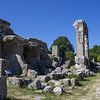 Temple Ruins along the Via Flaminia