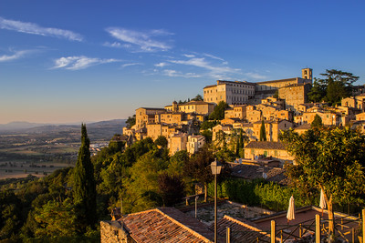 Todi at Sunset