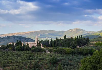 Monastery near Trevi