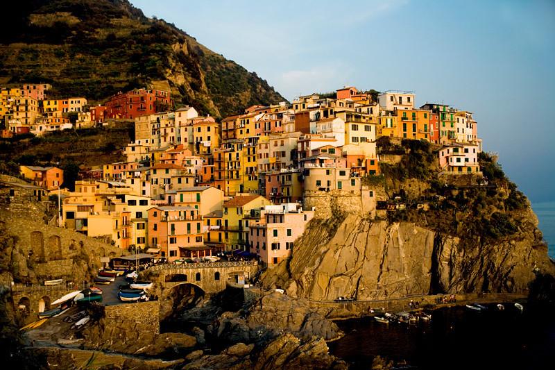 Manarola Sunset - Cinque Terre, Italy