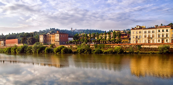 Along the Arno