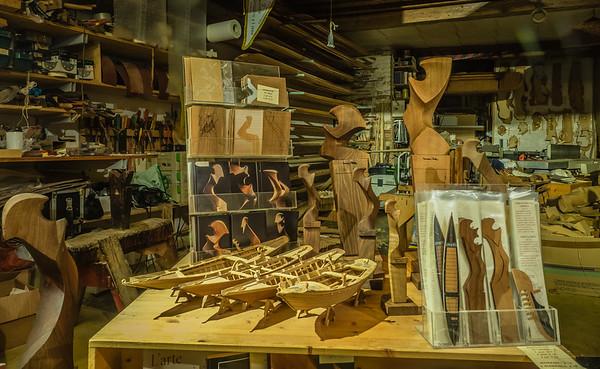 Venice - Gondola shop