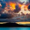 Sunrise near Greek Isles